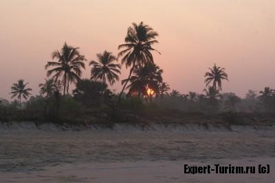 Рассвет на Гоа 29 января 2014