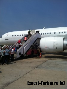 Первая посадка на рейс NES1564 29 января.
