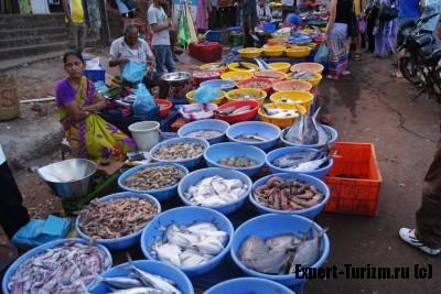 Индия, Гоа, fish market