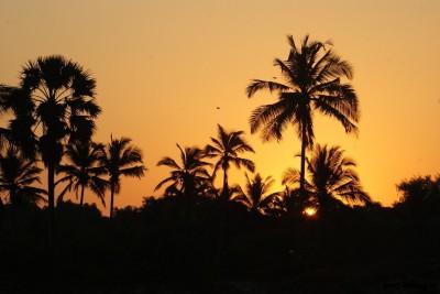 Восход солнца на Гоа
