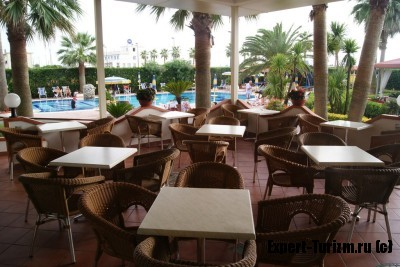 Веранда Hotel Olimpico
