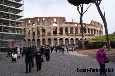 Рим, главное не отстать от гида