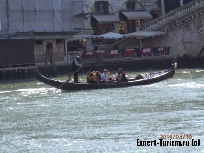 Венеция, Гондола
