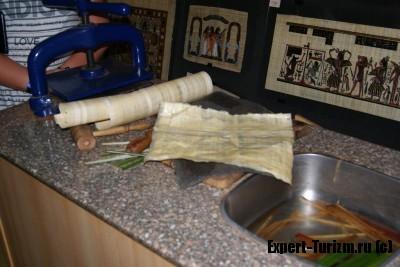 Музей папируса, как делают папирус