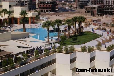 Бассейн Hilton Plaza 5*, Хургада, Египет