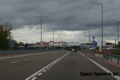 Тересполь, пограничный переход