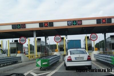 Оплата проезда в Польше
