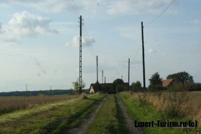 Проселочная дорога в Польше