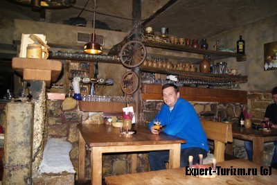 не туристический кабачек в Праге