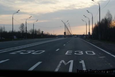 Дорога в Беларуси, шоссе