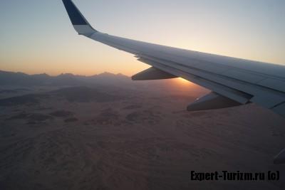 Каменные пустыни Египта вид сверху