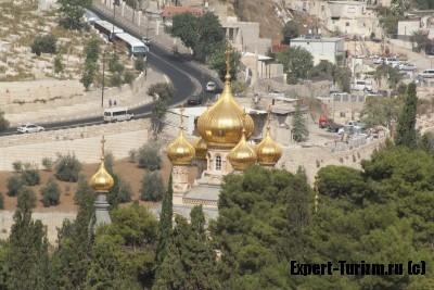 Вид с Масленичной горы, Иерусалим