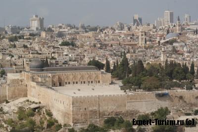Вид на Иерусалим с Масличной горы