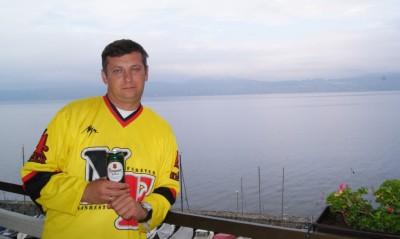 Женевское озеро. Лозанна на горизонте