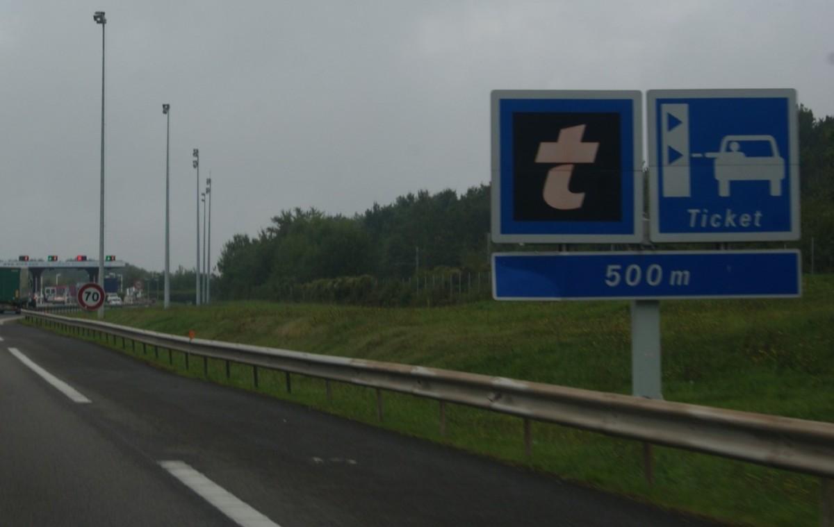 Дороги во Франции
