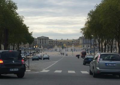 Версаль, Франция, дорога