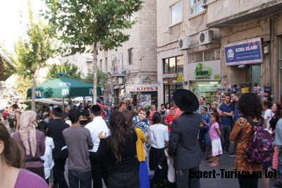 Иерусалим, будни, жизнь бурлит