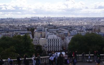 Париж, вид от Базилики Сакре-Кёр