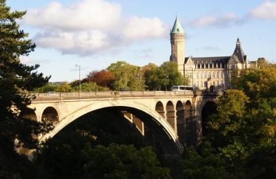 Один из мостов Люксембурга
