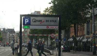 Амстердам, парковка
