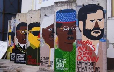 Берлин, Германия, Чекпоинт Чарли, Берлинская стена