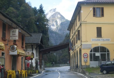 Граница Италия - Швейцария