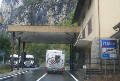 Италия - Швейцария, граница