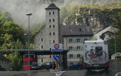 Граница Швейцарии