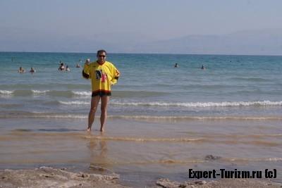 Очень соленое Мертвое море, Израиль