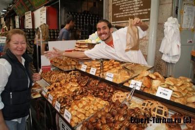 Цены на рынке Иерусалима, Израиль