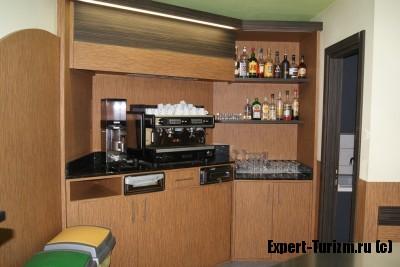 Кофемашина в  Hotel Venini, Милан Италия