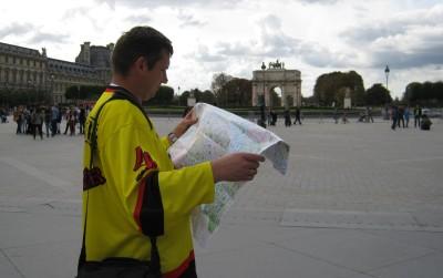 Сориентироваться на местности, обязательно нужна карта