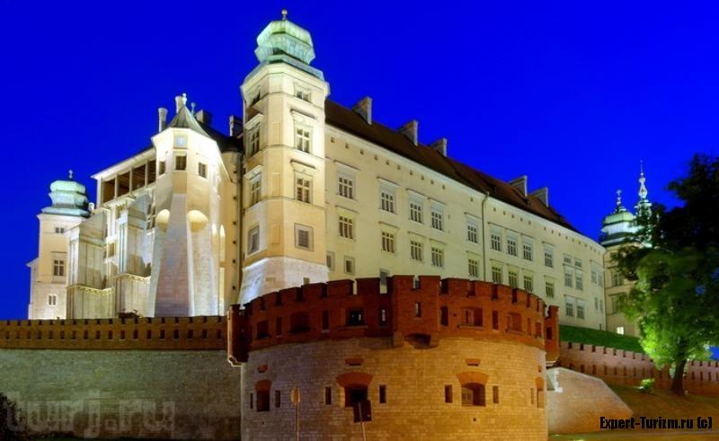 Краков, Вавельский замок королевская резиденция