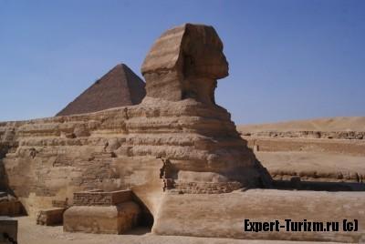 Гиза, пирамиды и сфинкс