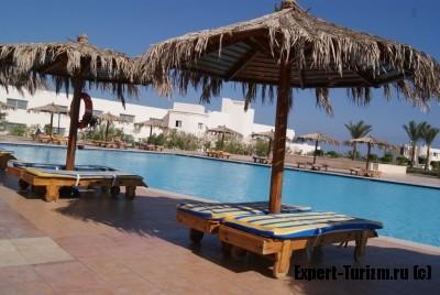 Ноябрь в Египте, бассейн