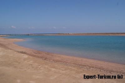Ноябрь в Египте, пляж