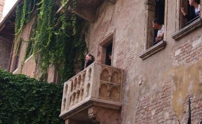 Верона, балкон Джульеты