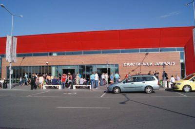 Аэропорт Бургас, зона прилета