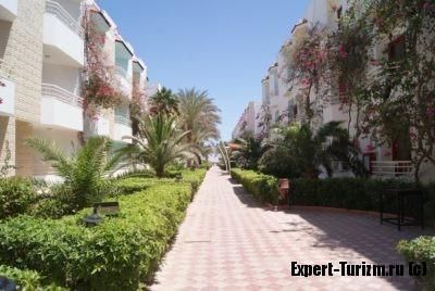 Почти вся территория отеля Minamark Beach Resort 4