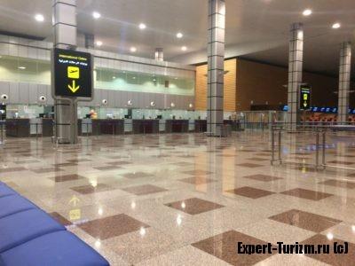 Паспортный контроль, Аэропорт Хургада, новый Терминал 1
