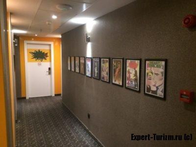 Отель Tempo Fair Suites, дизайн интерьера на этажах