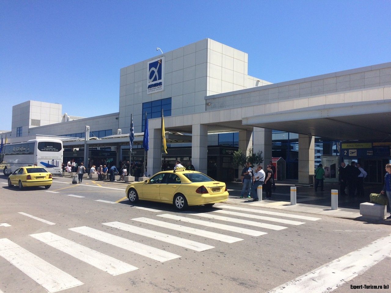 Аэропорт Афин зона вылета