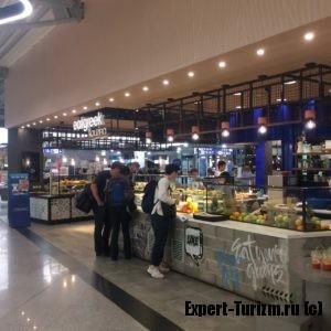 Фуд-корты в аэропорту Афин