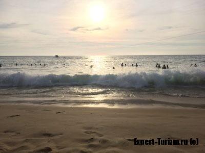 пляж Карон - волна это весело